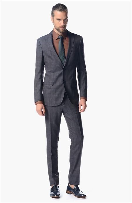 Süper Slim Fit Takım Elbise Network