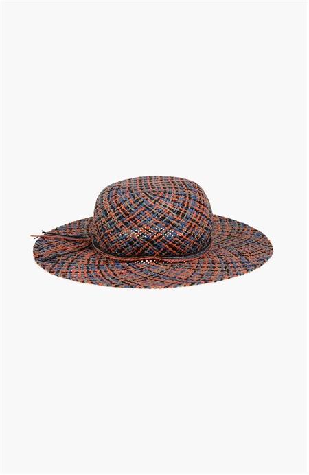 Renkli Hasır Şapka Network