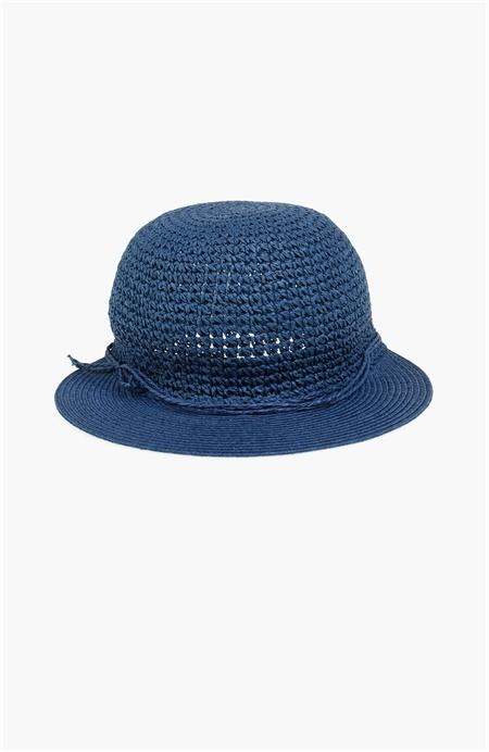 İndigo Hasır Şapka Network