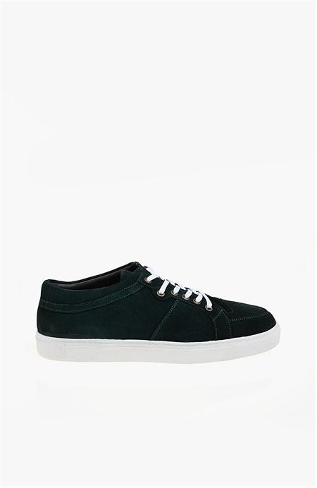 Yeşil Süet Sneaker Network
