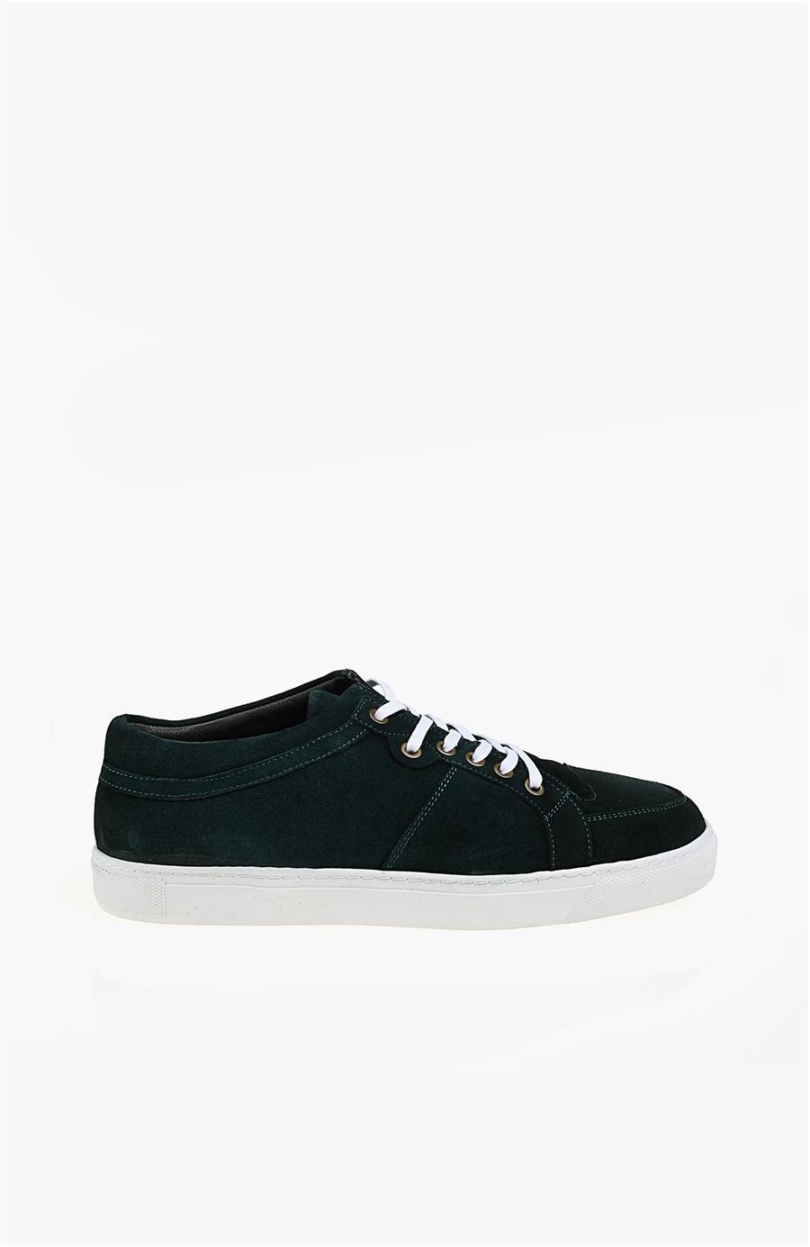 Yeşil Süet Sneaker - Renk Yesil - Network