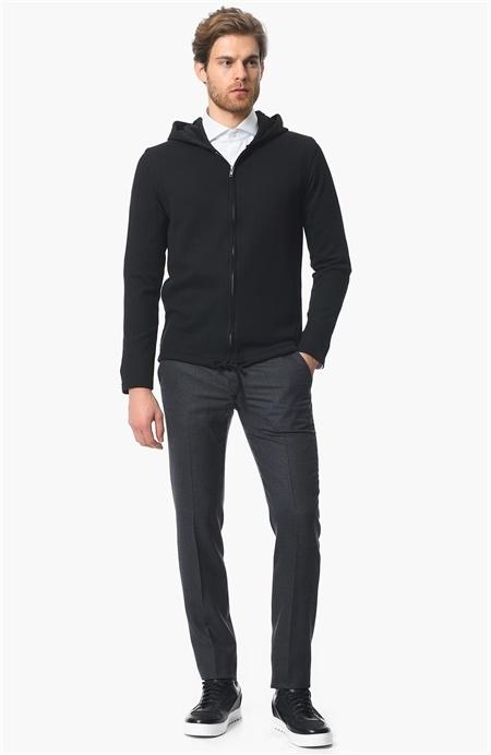 Siyah Triko Sweatshirt Network