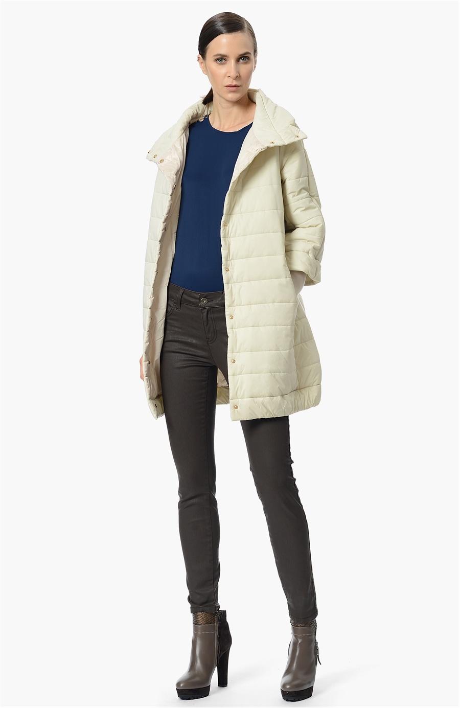 Kış için Renkli Palto ve Kaban Modelleri 2019