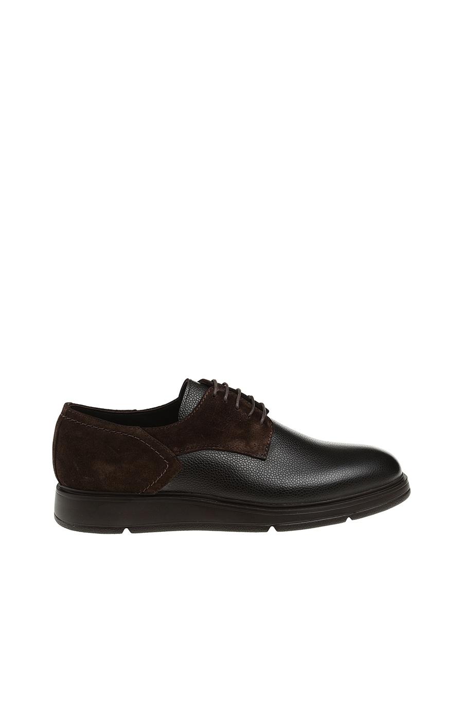 Kahverengi Deri Ayakkabı - Renk Kahverengi . - Network