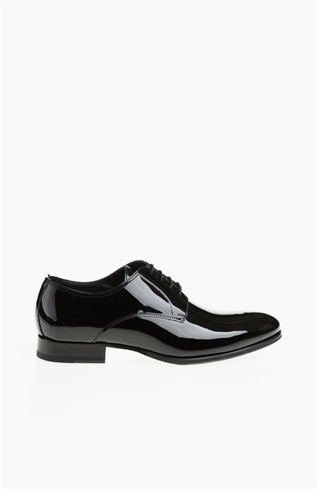 Siyah Rugan Ayakkabı Network