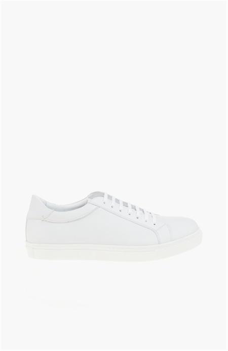 Beyaz Deri Sneaker Network
