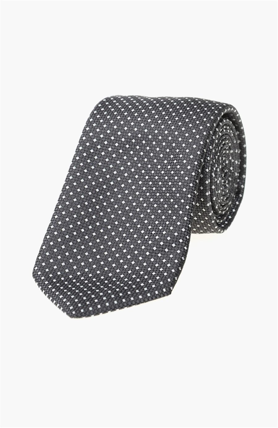 2019 Siyah Beyaz Kravat