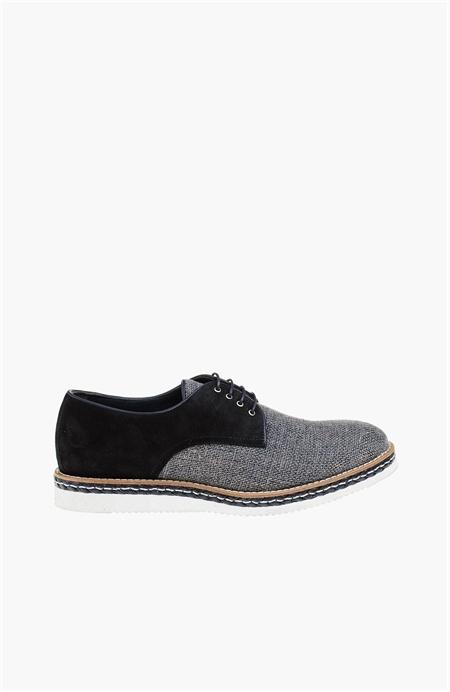 Siyah Bej Ayakkabı - Renk Siyah Bej - Network