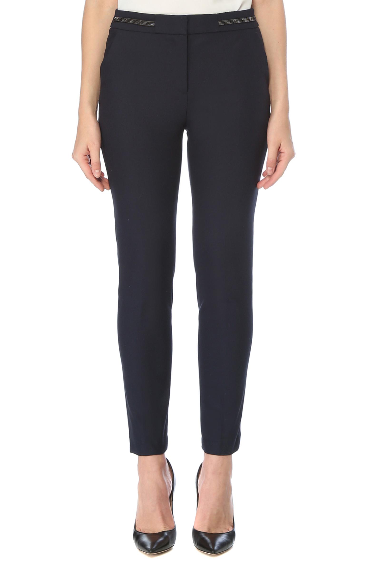 Basic Fit Lacivert Normal Bel Pantolon
